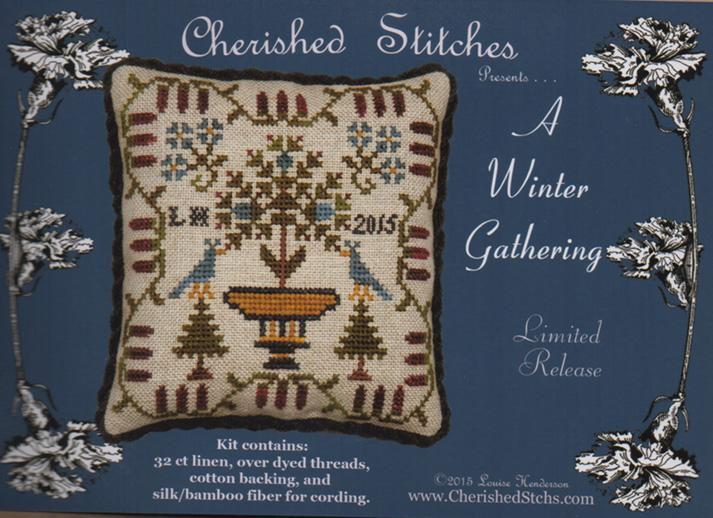 click here to view larger image of A Winter Gathering - Limited Edition Kit (counted cross stitch kit)