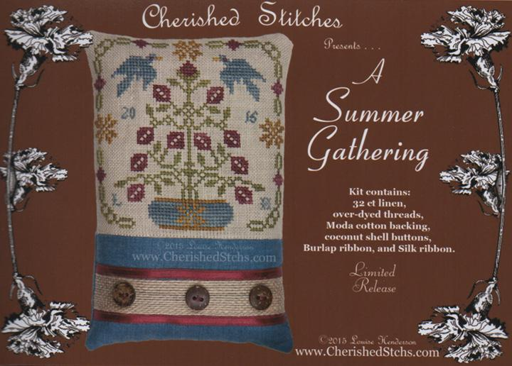click here to view larger image of A Summer Gathering - Limited Edition Kit (chart)