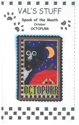 click here to view larger image of October Ornament - Octopurr (chart)
