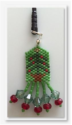 click here to view larger image of Charlie's Tree Cell Phone Plug (bead kit)