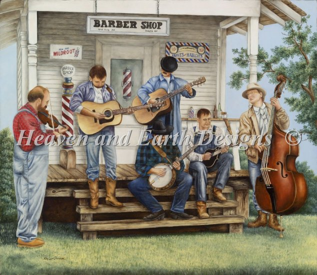 click here to view larger image of Bluegrass Festival (chart)