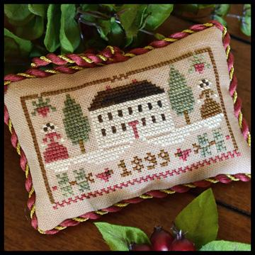 click here to view larger image of Christmas In The Country - Sampler Tree Ornament 11 (chart)