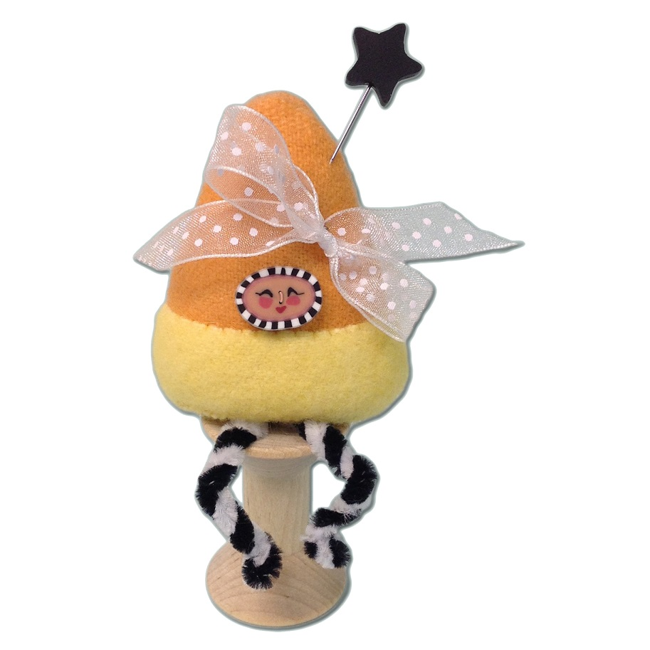 click here to view larger image of Candy Corn Pixie Spoolkeep Kit (pinkeep)