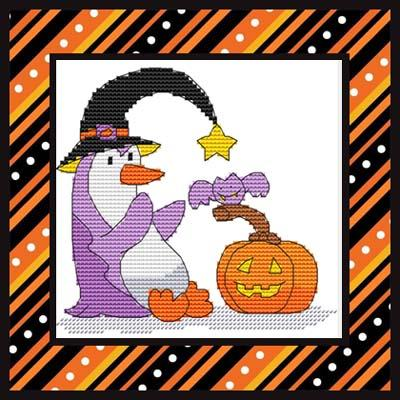 click here to view larger image of Halloween Penguin Two (chart)