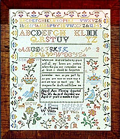 click here to view larger image of Abigail Ann Fleming - Silk Kit (counted cross stitch kit)