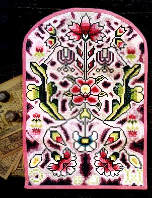 click here to view larger image of Gardner Pocketbook - Silk Kit (counted cross stitch kit)