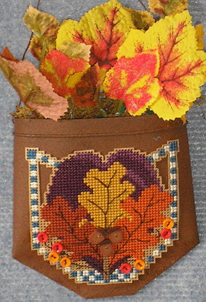 click here to view larger image of Button Pocket Fall (chart with charms/buttons)
