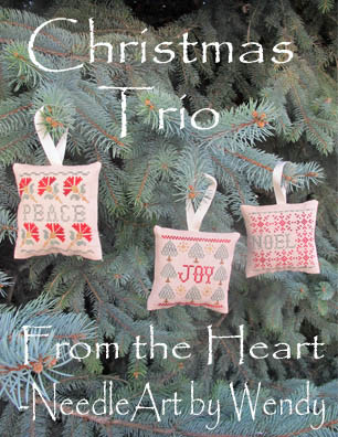 click here to view larger image of Christmas Trio (chart)