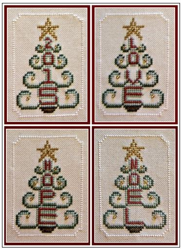 click here to view larger image of Charmed Tree Ornaments (chart with charms/buttons)