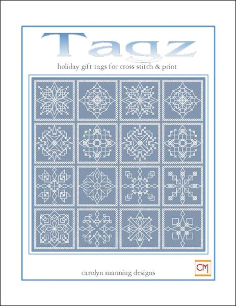 click here to view larger image of Tagz - Holiday Gift Tags (chart)