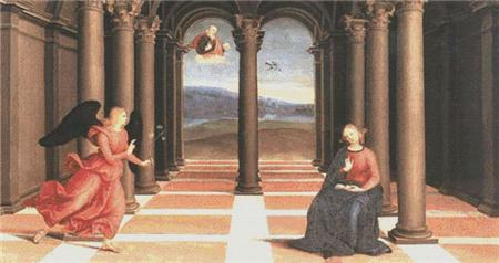 click here to view larger image of Annunciation, The (chart)