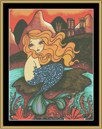 click here to view larger image of Fairy Tale Collection - Little Mermaid (chart)