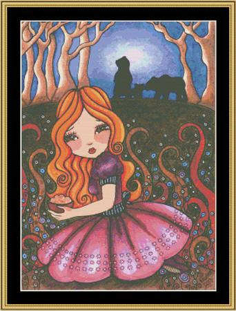 click here to view larger image of Fairy Tale Collection - Goldilocks (chart)