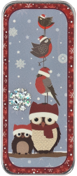 click here to view larger image of Winter Birds Needle Slide (accessory)