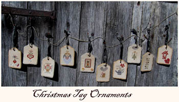click here to view larger image of Christmas Tag Ornaments (chart)