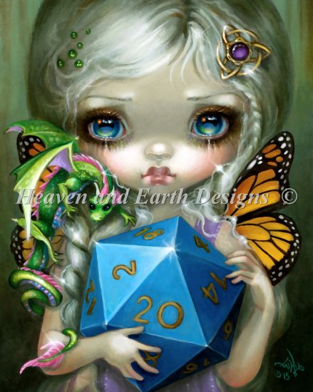 click here to view larger image of 20 Sided Dice Fairy (chart)