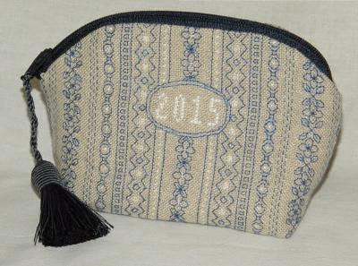 click here to view larger image of Small Blackwork Bag (chart)
