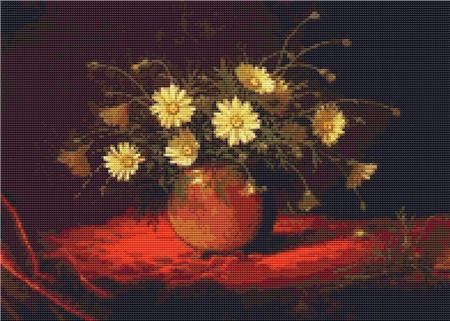 click here to view larger image of Yellow Daisies In A Bowl (chart)