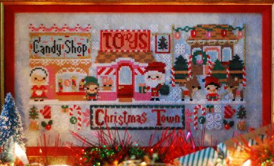click here to view larger image of Very Merry Christmas Town, A (chart)