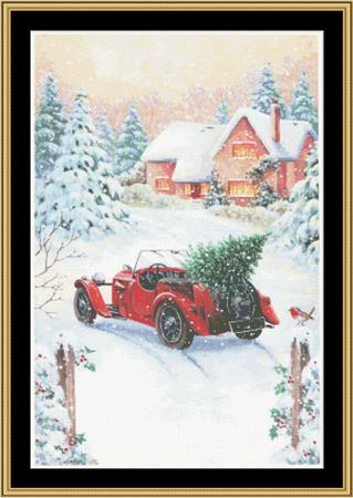 click here to view larger image of Christmas Landscape (chart)