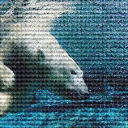 click here to view larger image of Diving Polar Bear (chart)