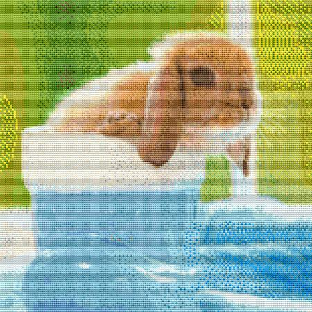 click here to view larger image of Cute Little Baby Rabbit (chart)
