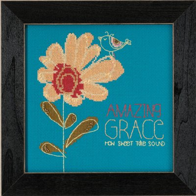 click here to view larger image of Amazing Grace - Amylee Weeks (counted cross stitch kit)