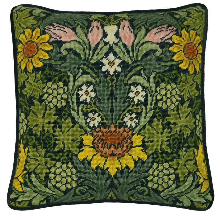 click here to view larger image of William Morris - Sunflowers (needlepoint)