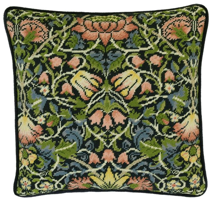 click here to view larger image of William Morris - Bell Flower (needlepoint)