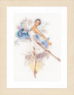 click here to view larger image of Ballerina (counted cross stitch kit)