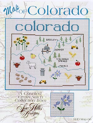 click here to view larger image of Colorado Map (chart)