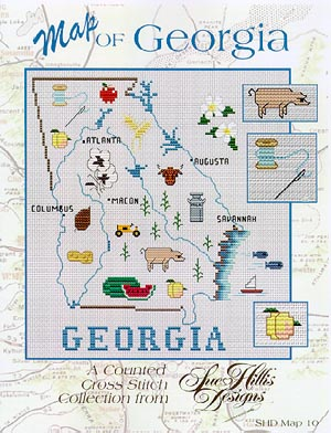 click here to view larger image of Georgia Map (chart)