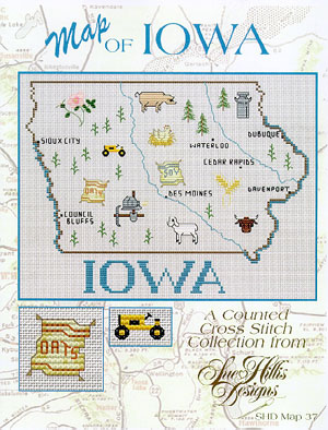 click here to view larger image of Iowa Map (chart)