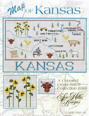 click here to view larger image of Kansas Map (chart)