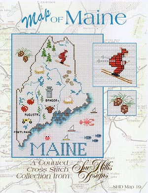 click here to view larger image of Maine Map (chart)