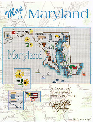 click here to view larger image of Maryland Map (chart)