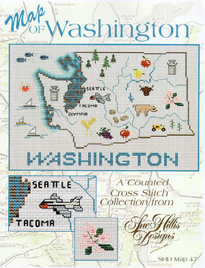 click here to view larger image of Washington Map (chart)