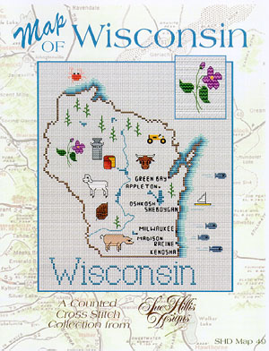 click here to view larger image of Wisconsin Map (chart)