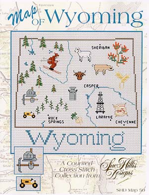 click here to view larger image of Wyoming Map (chart)