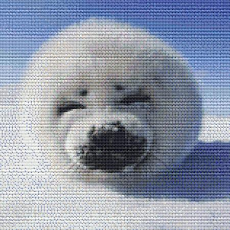 click here to view larger image of Cute Baby Seal (chart)