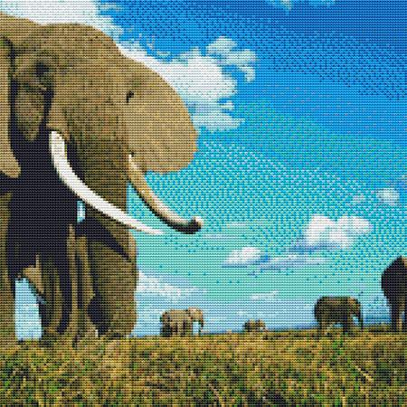 click here to view larger image of Blue Skies Elephant (chart)