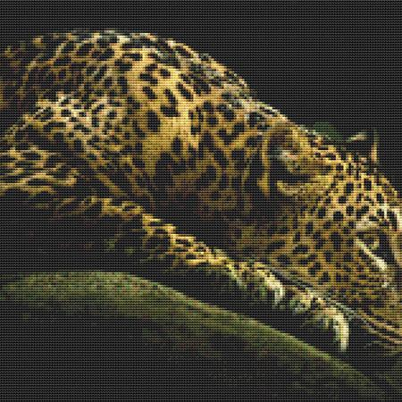 click here to view larger image of Dark Resting Leopard (chart)