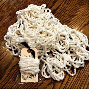 click here to view larger image of Snow - Jumbo Chenille (fiber)