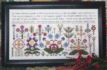 click here to view larger image of Beauteous Garden (chart)