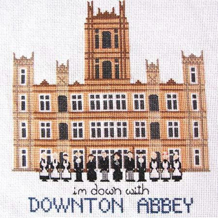 click here to view larger image of Im Down With Downton Abbey (chart)