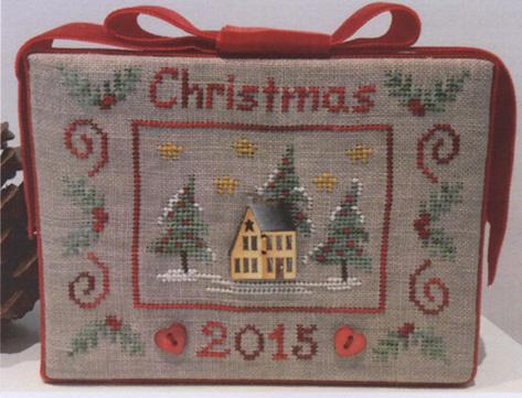 click here to view larger image of Christmas 2015 - Includes Hand Painted Button (chart with charms/buttons)