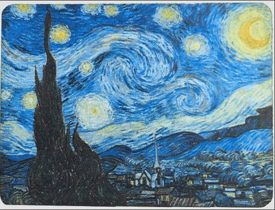 click here to view larger image of Art on a Pin - Starry Night Needle Minder (accessory)