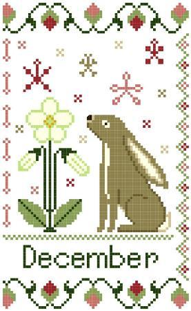 Year of the Hare Part 12 - December - click here for more details about chart