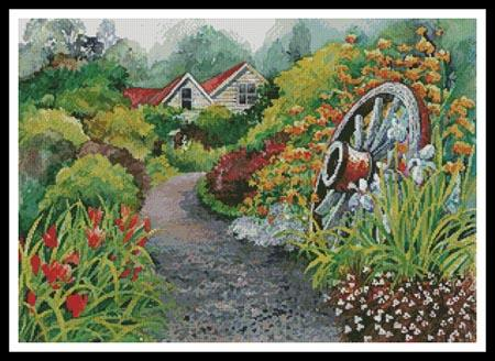 Rustic Gardens - click here for more details about chart