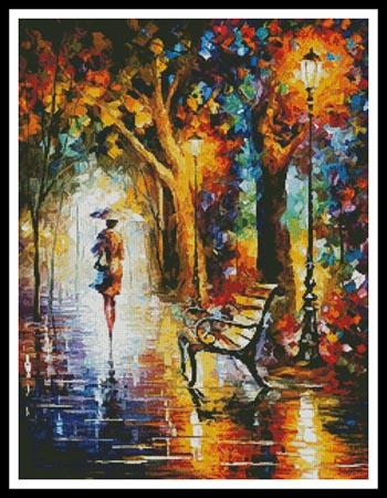 click here to view larger image of End of Patience, The - Regular design  (Leonid Afremov) (chart)